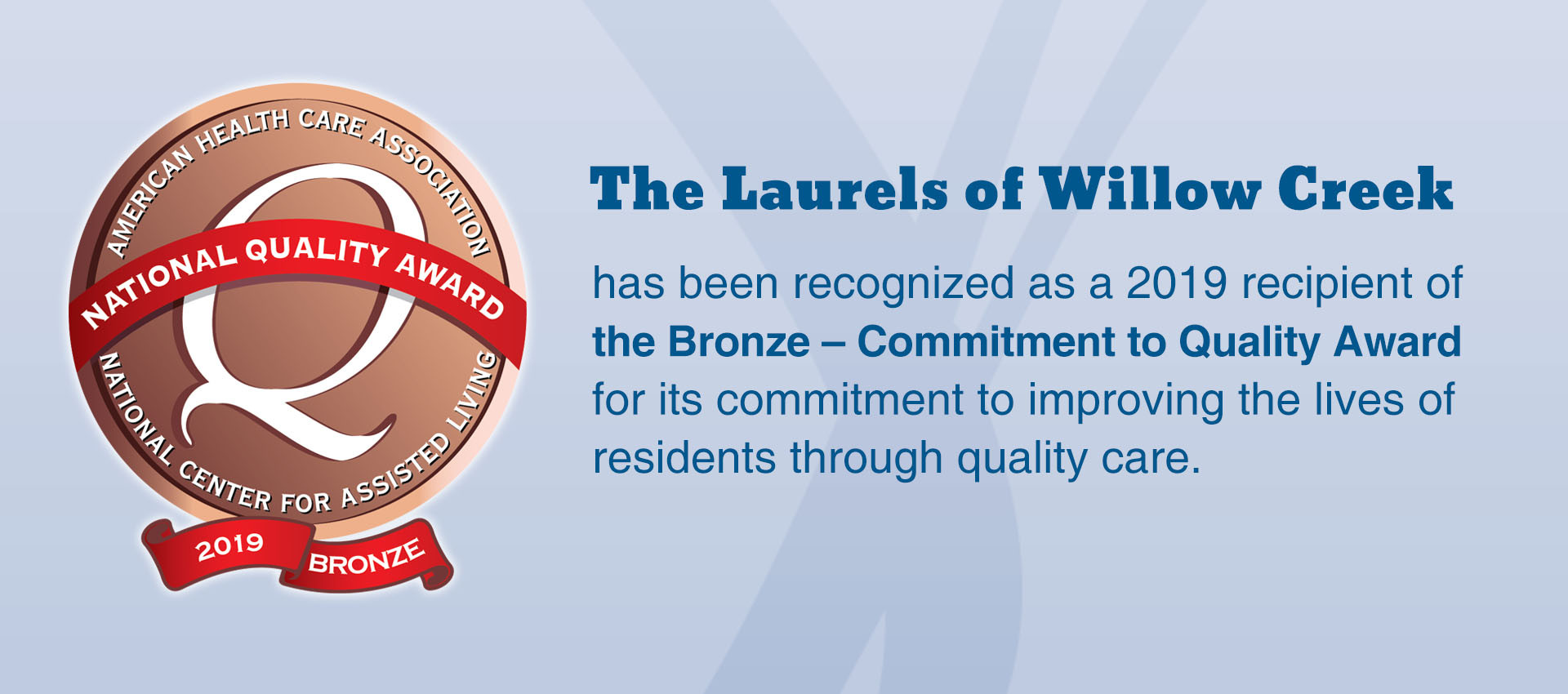 Bronze National Quality Award
